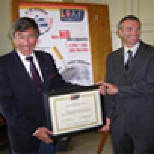 Il sindaco di Catania socio onorario LIAF