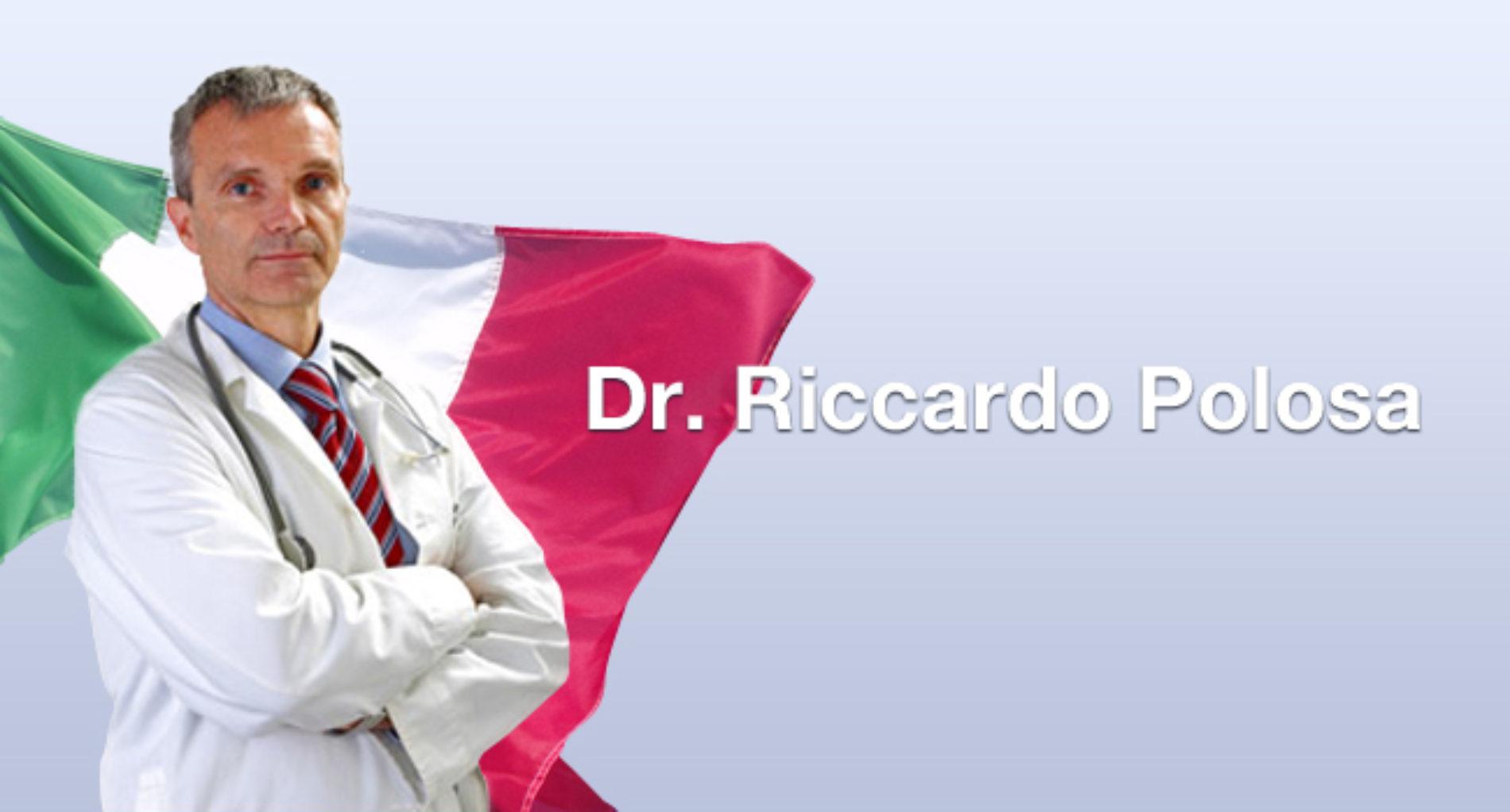 ll prof. Riccardo Polosa risponde. Sigaretta elettronica, sicurezza e salute.