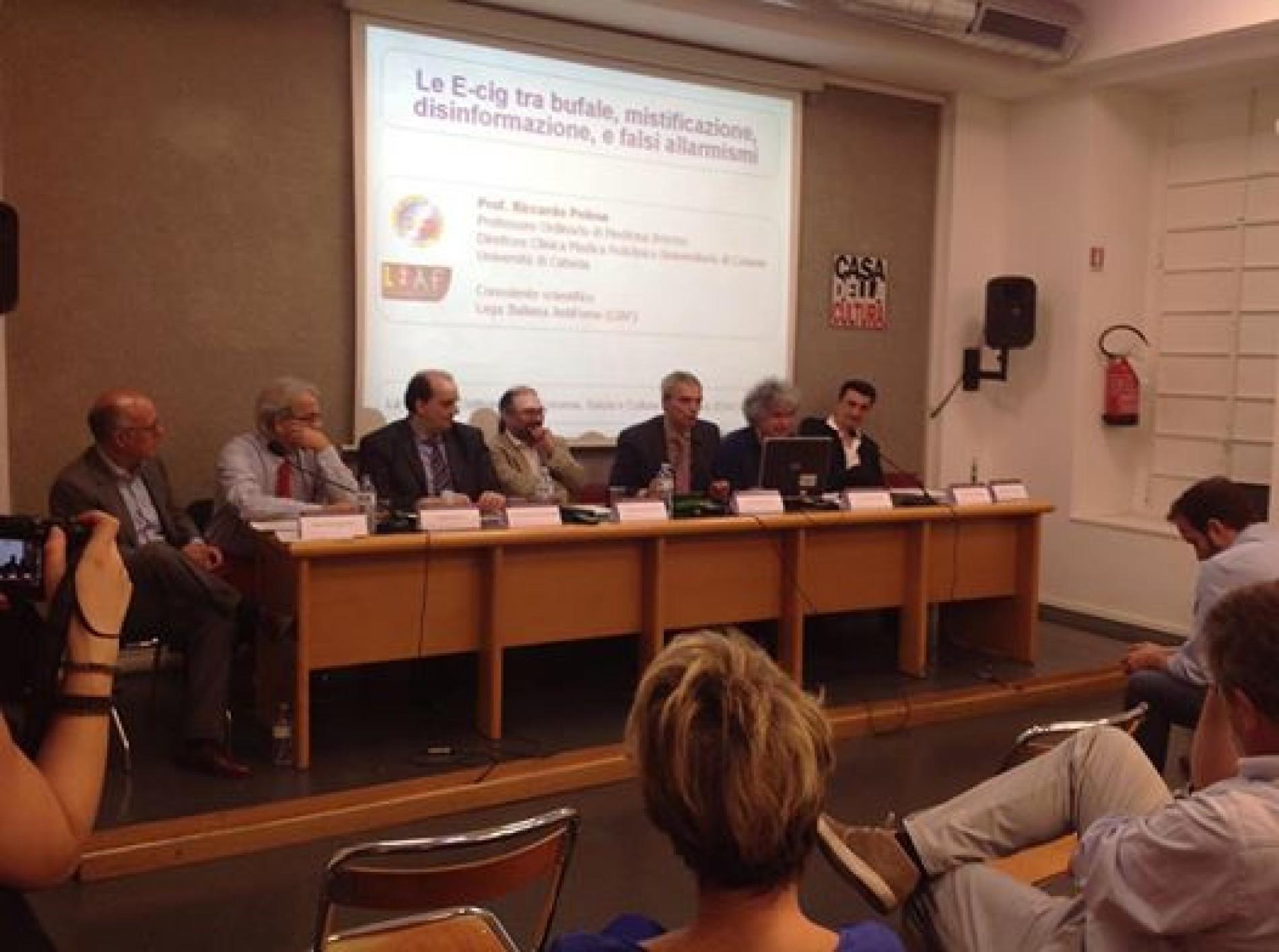 Convegno Milano: Svapo elettronico