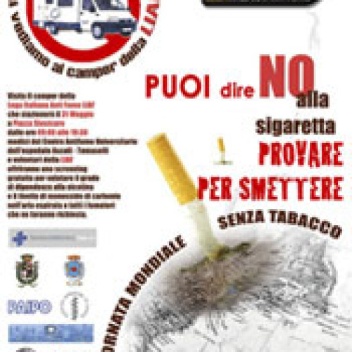 31 maggio 2006: giornata mondiale senza tabacco