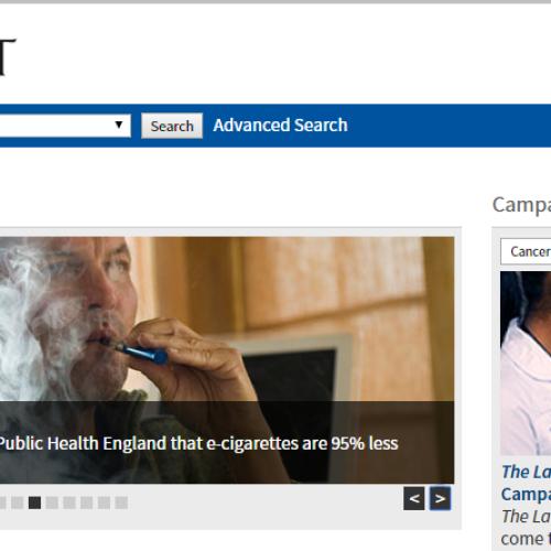 Polosa difende il rapporto inglese sulle e-cig dall'attacco di Lancet