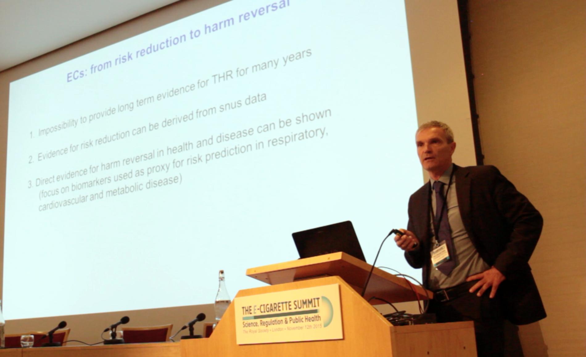 Royal Society di Londra – Summit sulle e-cig 2015: l'intervento del prof. Polosa