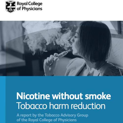 Royal College of Physicians: l'Ordine dei Medici inglesi incoraggia l'uso delle e-cig per ridurre i danni causati dal fumo