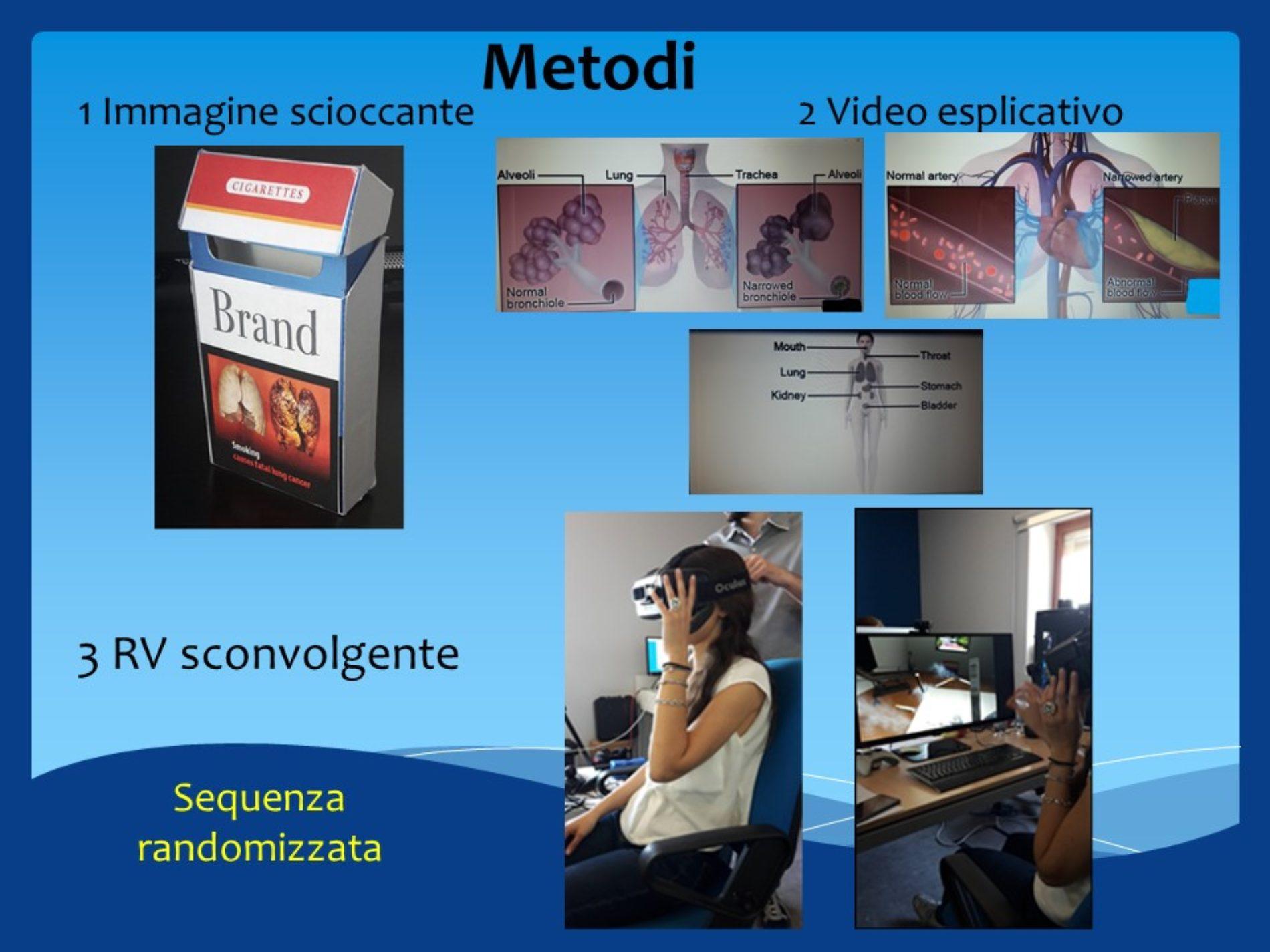 Realtà virtuale per smettere di fumare: ecco la prima tesi a supporto del metodo