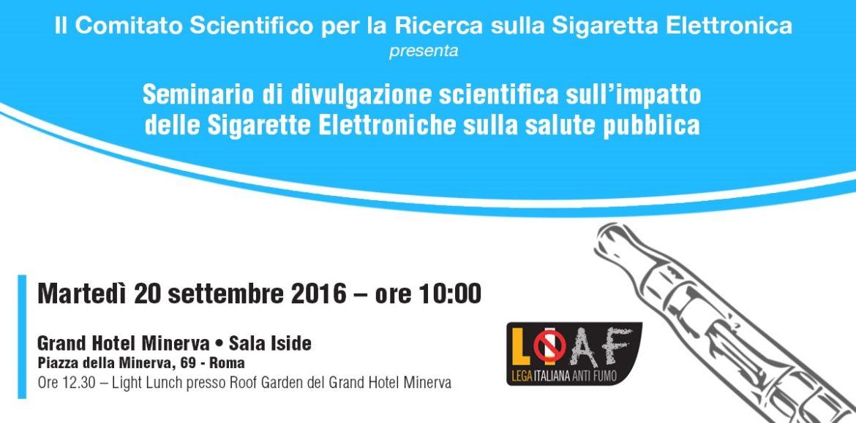 #savethedate: Martedì 20 Settembre a Roma il primo seminario del Comitato Scientifico LIAF