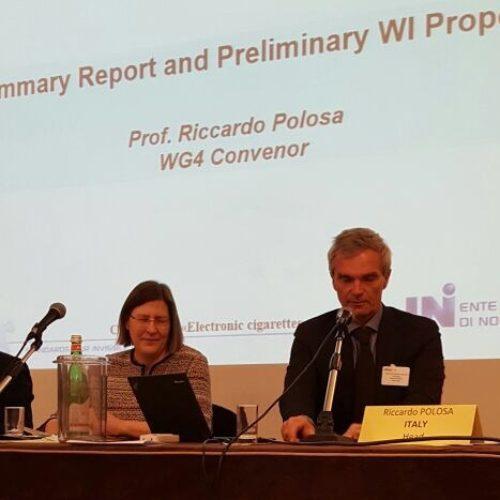 """Riunione del CEN a Firenze. Polosa: """"La standardizzazione delle e-cig come obiettivo strategico"""""""