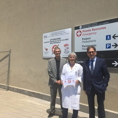 """No Tobacco Day 2017 – Il """"Policlinico – Vittorio Emanuele"""" si libera dal fumo"""