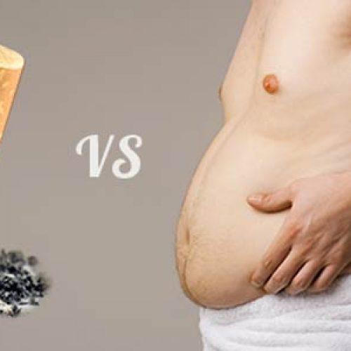 Chi svapa mette su solo 1/3 del peso di chi smette senza e-cig
