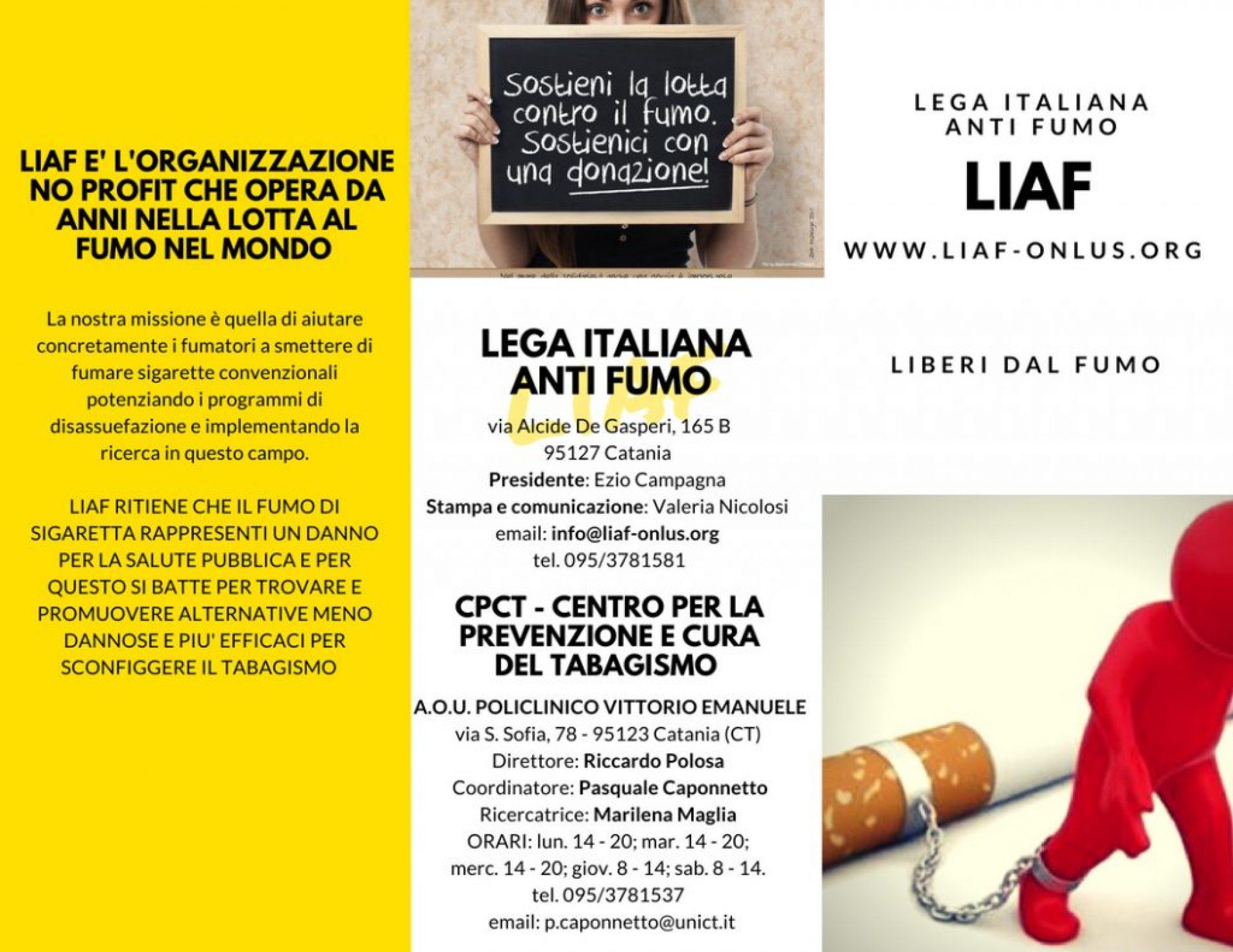 Brochure e video LIAF 2018