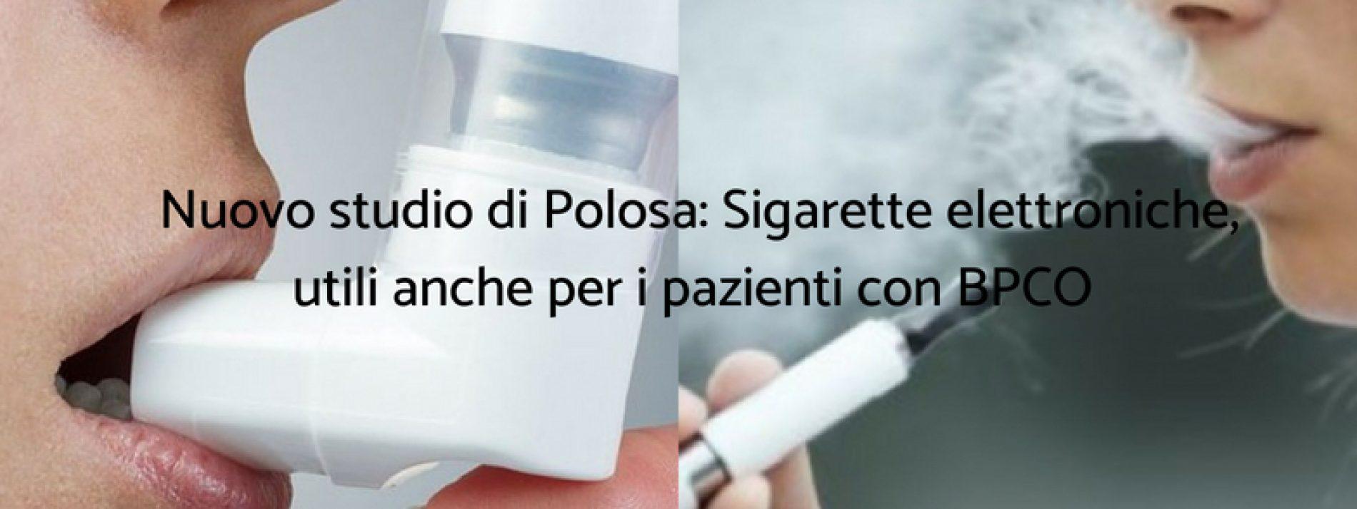 L'uso di sigarette elettroniche può invertire il danno causato dal fumo di tabacco nei pazienti con BPCO, anche nel lungo termine
