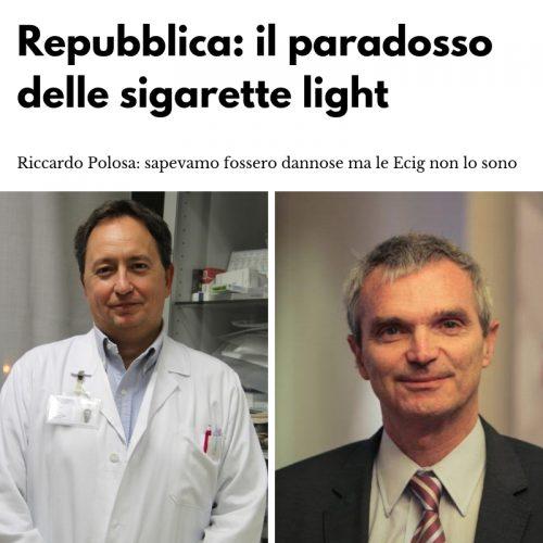 Polosa sulle sigarette light: l'analogia con le elettroniche è fallace