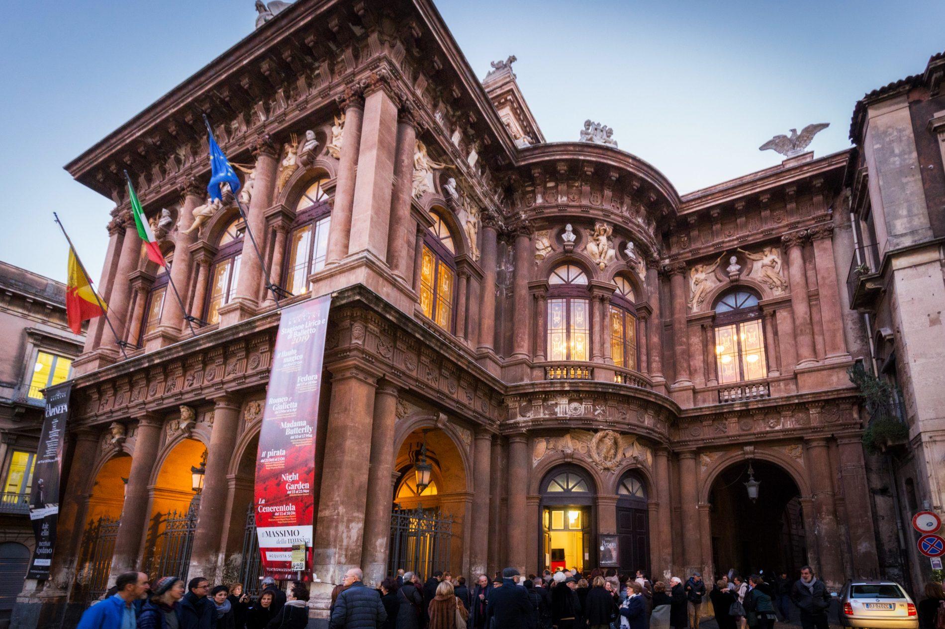 Primo evento inaugurale per i membri del CoEHAR ospiti ieri sera al Teatro Massimo Bellini di Catania