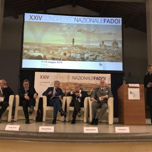 Riccardo Polosa al congresso di FADOI
