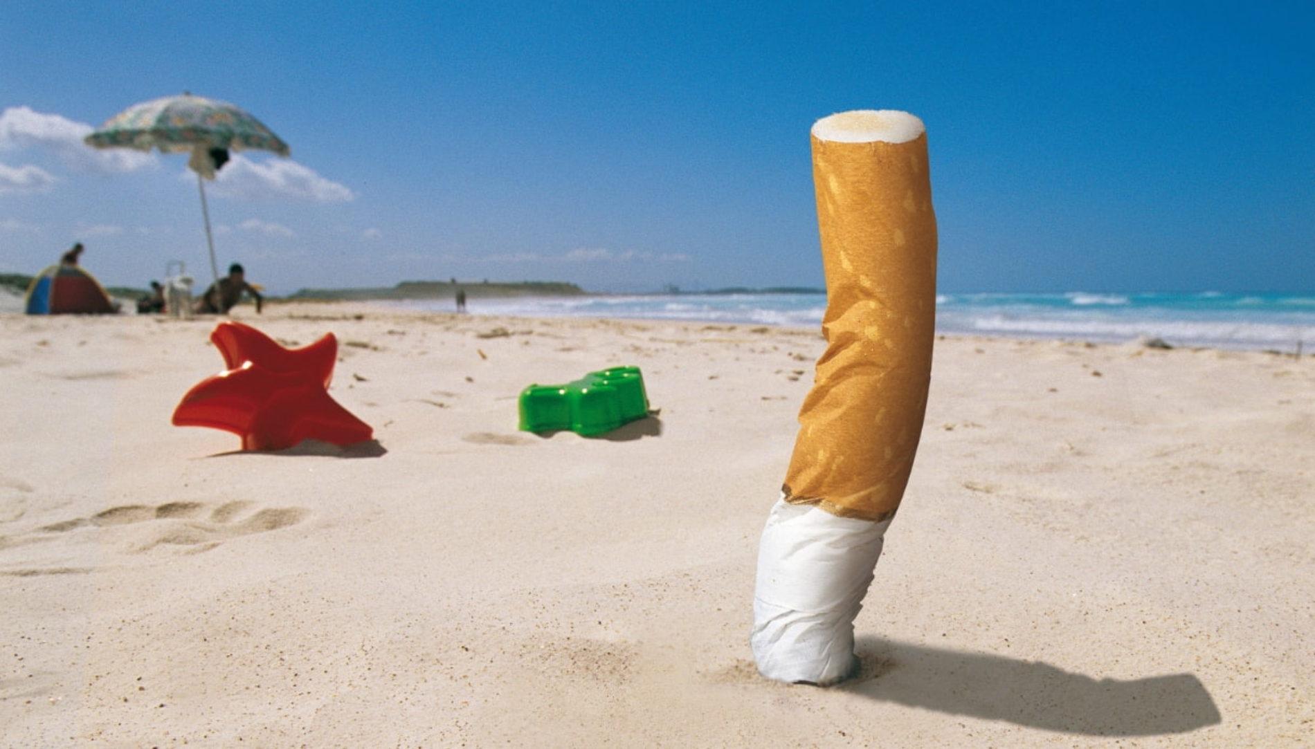 Sassari, stop al fumo in spiaggia