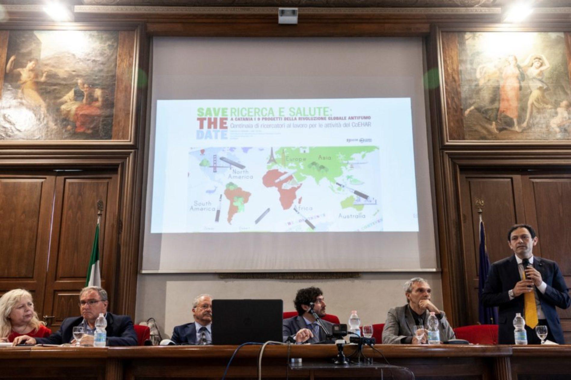 Catania capitale dell'Harm Reduction. Gli auguri di Catania del prof. Riccardo Polosa