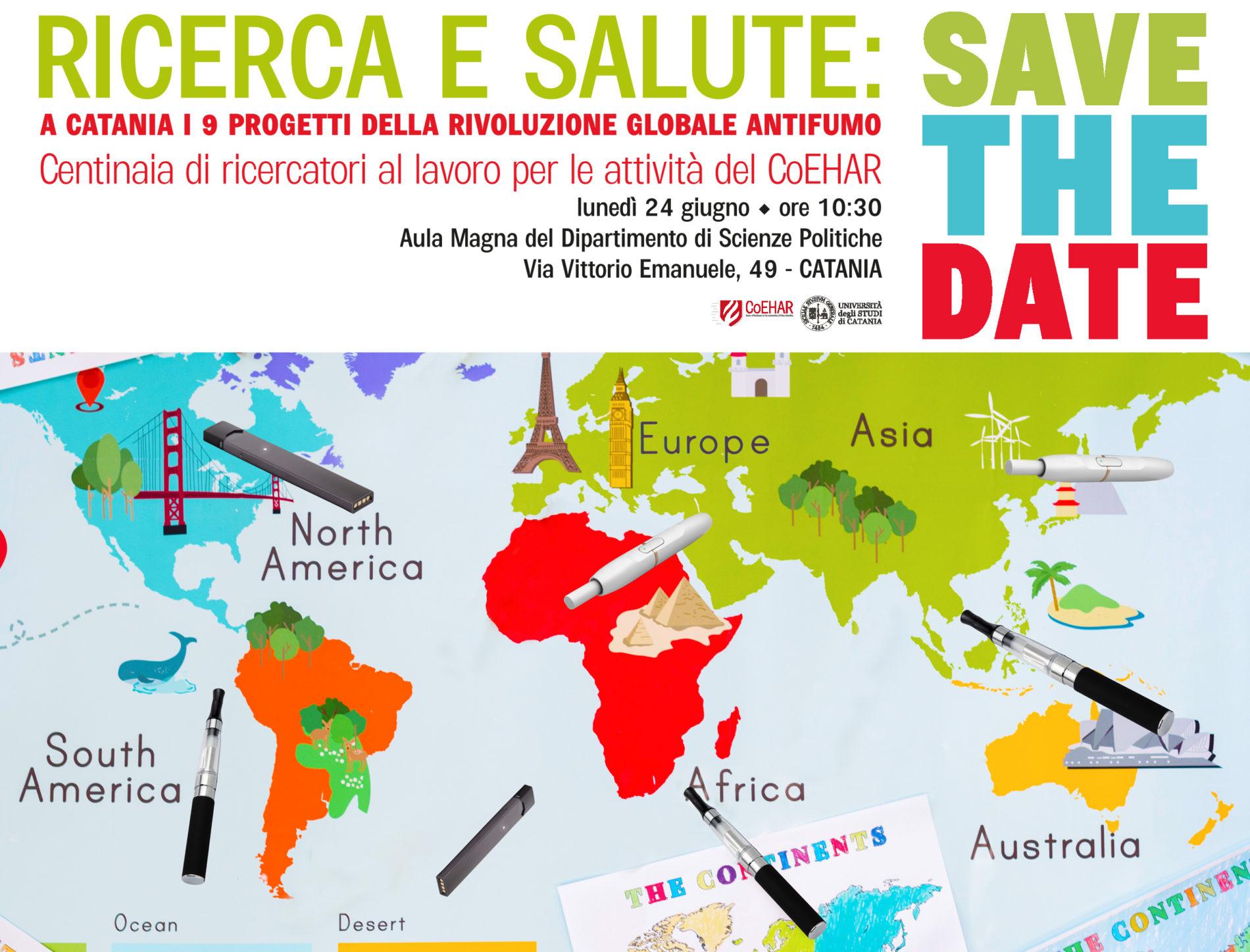A Catania i 9 progetti della rivoluzione globale antifumo
