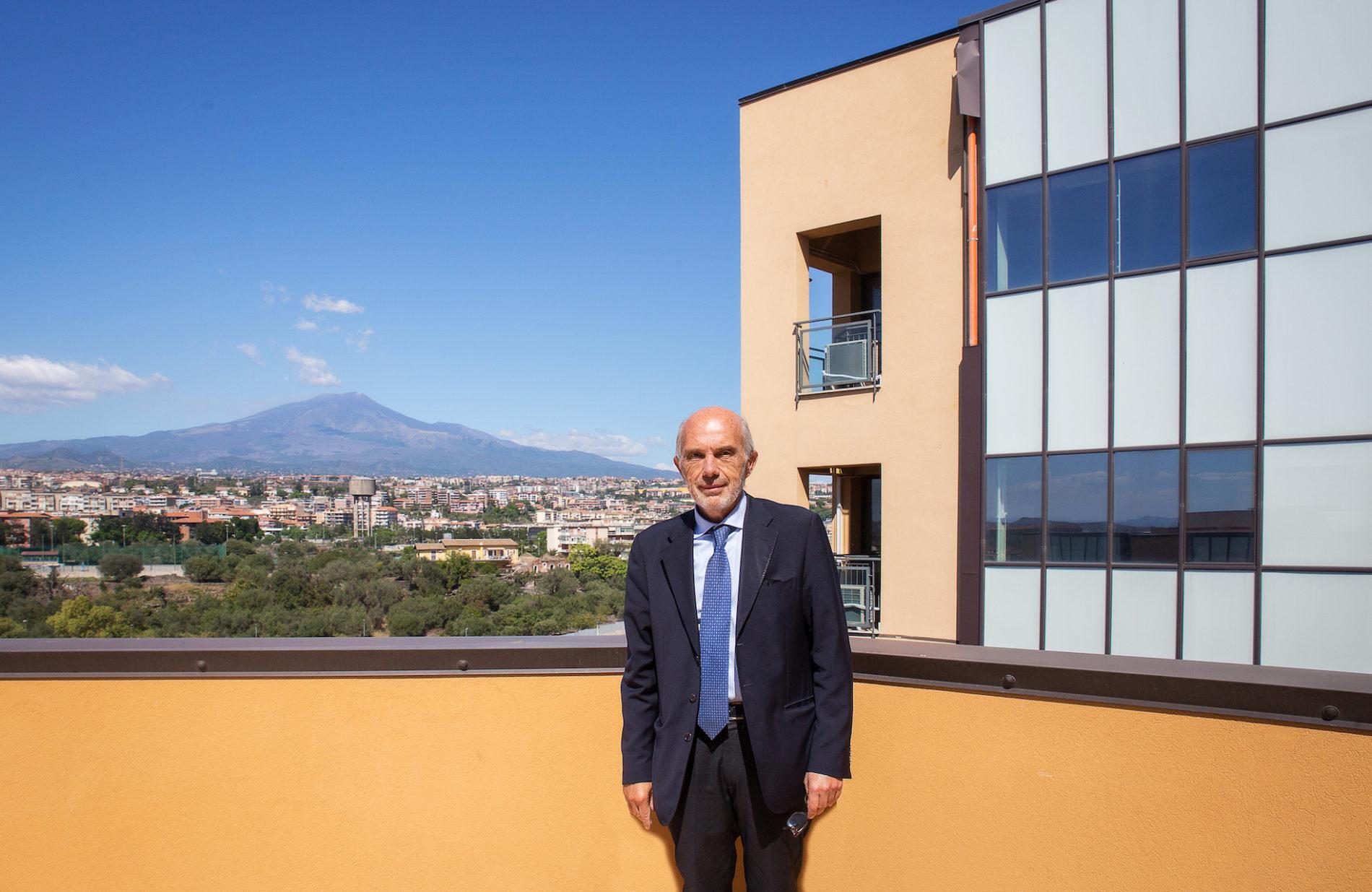 Presentazione progetti CoEHAR – l'intervento del Rettore Basile