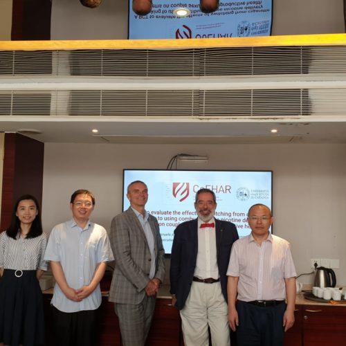 Il CoEHAR sbarca in Cina ed apre un nuovo fronte nella ricerca applicata alla riduzione del rischio: nel mirino impotenza e infertilità