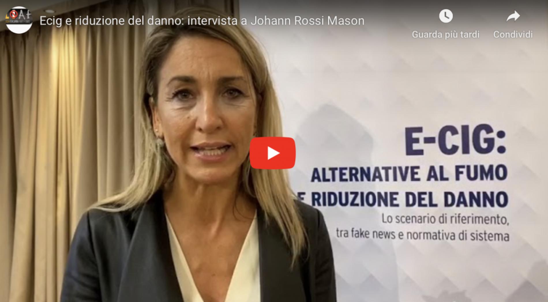 Intervista alla scrittrice Johann Rossi Mason
